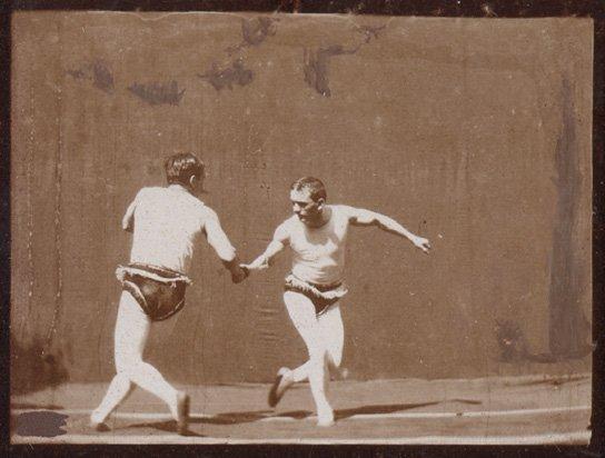 Ringkampf Greiner - Sandow, Quelle: DIF