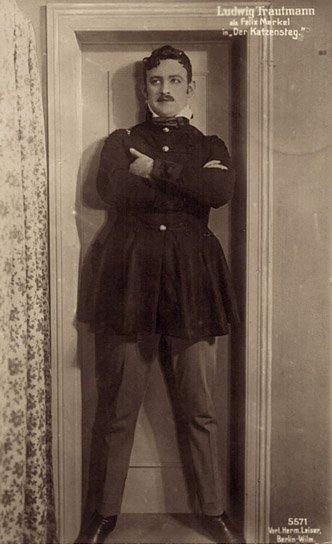 Ludwig Trautmann; Quelle: Privatsammlung