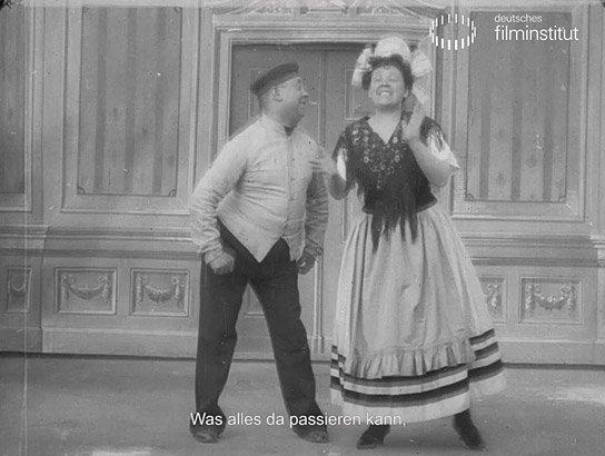 """""""Abends nach Neune: Duett aus Durchlaucht Radieschen. Nr. 11"""""""