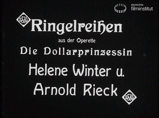 """""""Die Dollarprinzessin. Ringelreihen"""""""