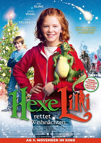 """Hexe Lilli rettet Weihnachten"", Quelle: Universum Film, DIF"