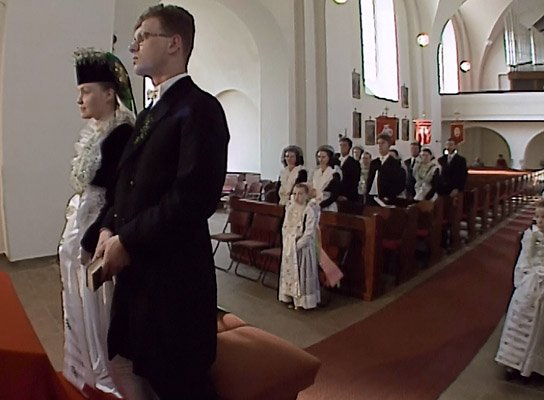 """""""Sorbische katholische Hochzeit"""", © Domowina e.V."""
