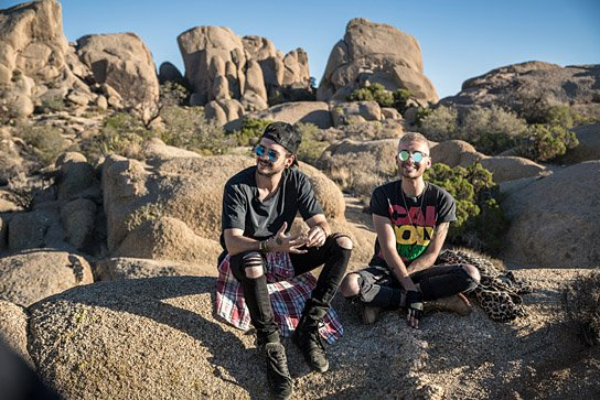 """""""Tokio Hotel - Hinter die Welt"""", Quelle: mindjazz pictures, © Martin Ehleben"""