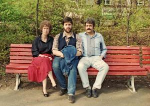 Berlin - Ecke Bundesplatz: Vater, Mutter, Kind