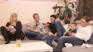 """""""Vier werden Eltern"""", Quelle: W-film, DIF, © W-film, Maschkefilm"""