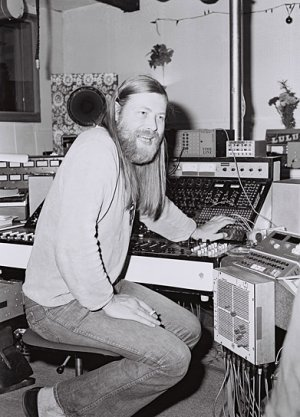 """""""Conny Plank - The Potential of Noise"""", © Edition Salzgeber, Christa Plank"""