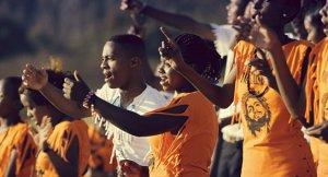 """Sing it Loud - Luthers Erben in Tansania"", © JIP Filmproduktion"