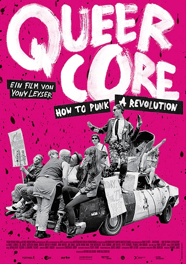 """Queercore - How to Punk a Revolution"", Quelle: Edition Salzgeber & Co. Medien"