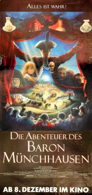 Filmplakat von Die Abenteuer des Baron von Münchhausen