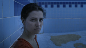 "Esther Zimmering in ""Swimmingpool am Golan"" (2017);"